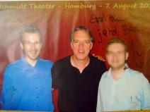 Foto von mir mit Wolfgang Trepper plus Autogramm