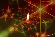 Bild einer Kerze