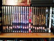 Ein Foto meiner James Bond DVDs