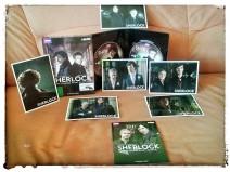 Foto der Limited Edition der dritten Staffel von Sherlock mit den Extras