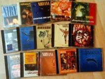 Meine Nirvana-CD-Sammlung