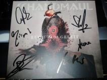 """Foto der Maxi-CD """"Euch zum Geleit"""" von Schandmaul inkl. Autogramme"""