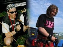 Fotos von mir auf dem Wacken Open Air 2004 bzw. 2006