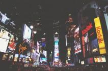 Foto: Der Times Square bei Nacht