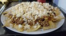 Foto: Nachos fürs Backen fertig zubereitet