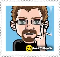 Mein Avatar als Briefmarke