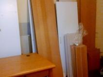 Foto der zerlegten Möbel aus der Textschmiede - Teil 2