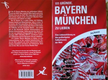 """Foto: Buch """"111 Gründe, Bayern München zu lieben"""""""