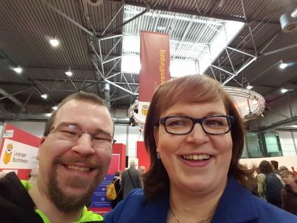 Selfie von Vera Nentwich und meiner Wenigkeit
