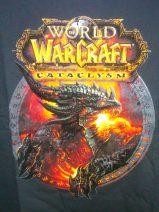 Foto des T-Shirts zu WoW Cataclysm