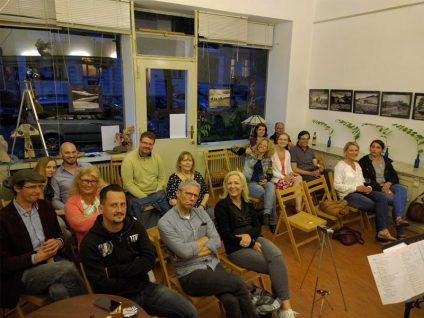 Ein Foto vom Publikum