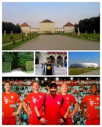 Foto-Collage aus meinem München-Besuch im September 2016