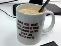 Foto meiner Kaffeetasse