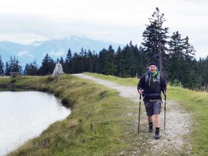 Foto von mir beim Wandern in Seefeld
