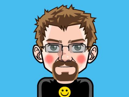 Grafik: Mein Comic-Ich mit Schamesröte im Gesicht