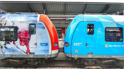 Foto eines S-Bahn Zuges der S-Bahn München